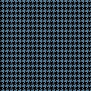 Blue Houndstooth Small