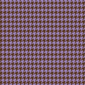 Purple Houndstooth Small
