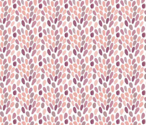 Petals in Nude fabric by house_designer on Spoonflower - custom fabric