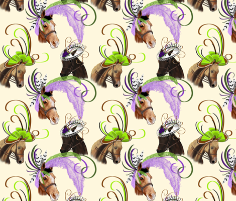 Off to the Races! fabric by house_of_heasman on Spoonflower - custom fabric