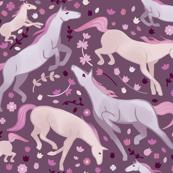 Spring horses