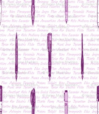 Purple Pens