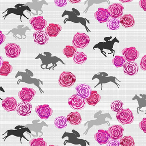 Races And Roses Purple