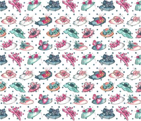 derby pattern fabric by whitney_art_spot on Spoonflower - custom fabric
