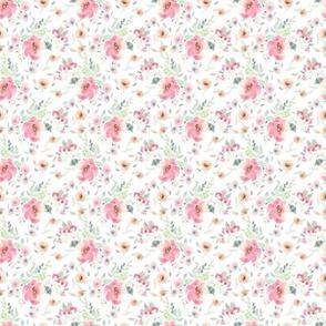 """1"""" Pink Sugar Blooms"""