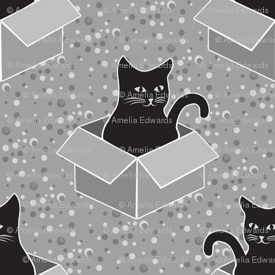 Monochrome Cat Medium