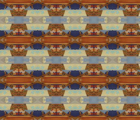 geology 101, sedimentary layering fabric by kae50 on Spoonflower - custom fabric