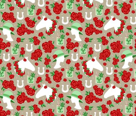 Derby Days fabric by robyriker on Spoonflower - custom fabric