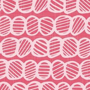 Geometrically One - Bright pink