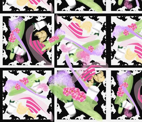 OfftotheRacesChallenge fabric by notbrownplaid on Spoonflower - custom fabric