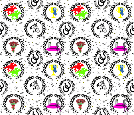 derby delight fabric by bdarby on Spoonflower - custom fabric