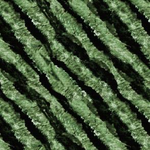 Endangered Tiger stripes green