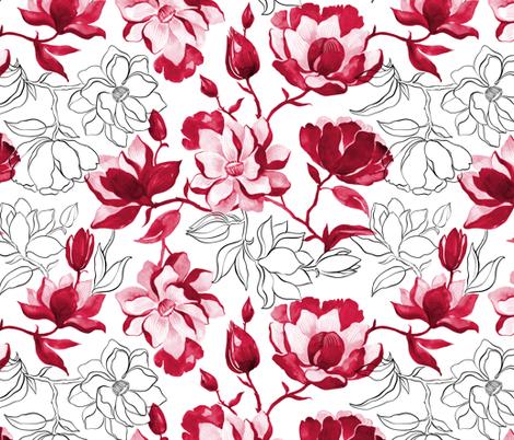 monored fabric by torysevas on Spoonflower - custom fabric