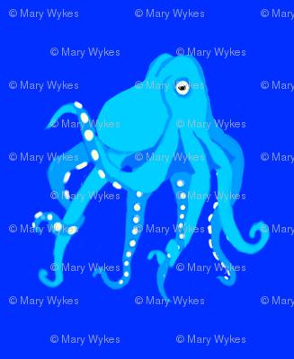 Aqua Octopus Swim Meet on Blue