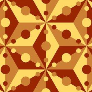 07371292 : SC3C spotty : terracotta