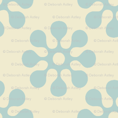 In the Meadow Stenciled Wallpaper