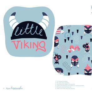 Viking - cut&sew - plushie softie