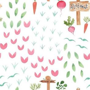 Gardening Bunnies Allotment