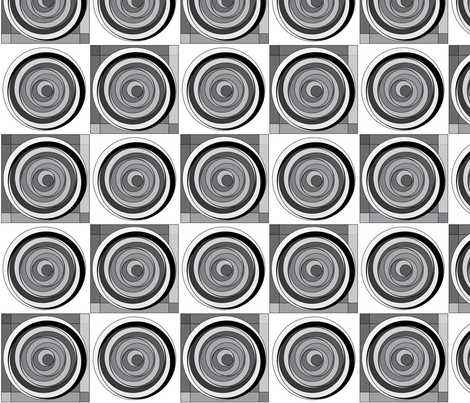 4xCircles-2xSquares fabric by paintedluna on Spoonflower - custom fabric
