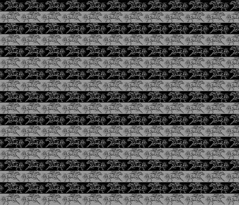 Mane Event fabric by fabric_rocks on Spoonflower - custom fabric