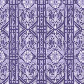 Purple Edwardian Geometry