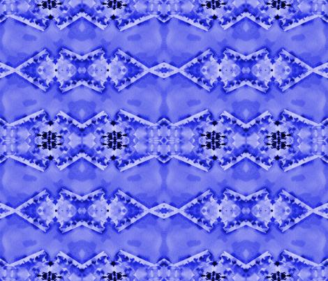 Blue on Blue fabric by gargoylesentry on Spoonflower - custom fabric