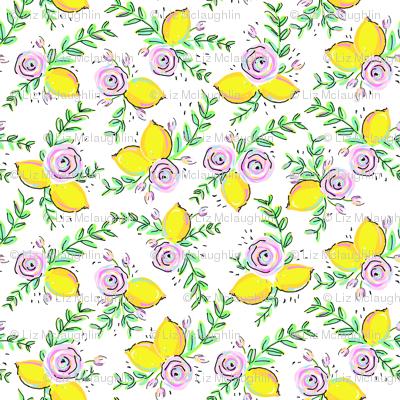 Sweet Spool Designs Lemon Rose small