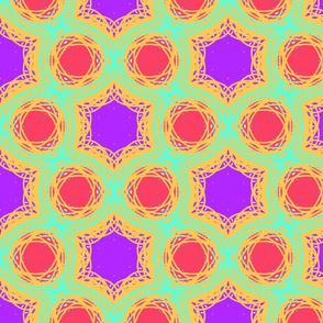 pastel line art