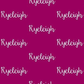Ryeleigh - Orchid