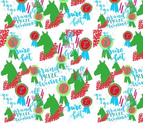 Grand Prize Winner fabric by dainty_apples on Spoonflower - custom fabric