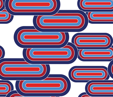 What a Pill - Patriotic fabric by alchemiedesign on Spoonflower - custom fabric