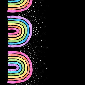 Rainbow arch combo black