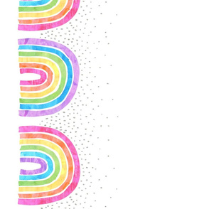 Rainbow arch combo white