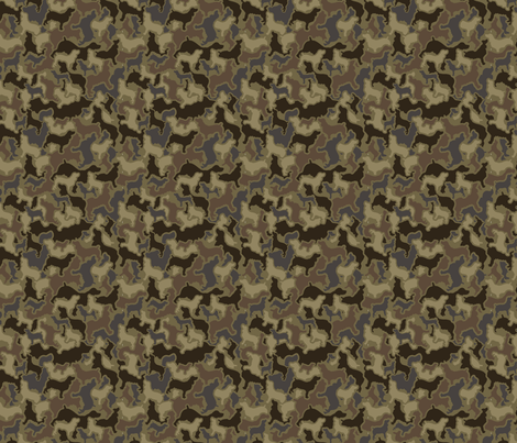 Boykin Bottomland Hardwoods Camouflage fabric by wingshotcollection on Spoonflower - custom fabric