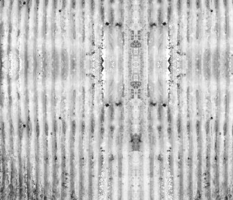 Farmhouse CurrogatedSteel Black & Gray fabric by ellamichelle on Spoonflower - custom fabric