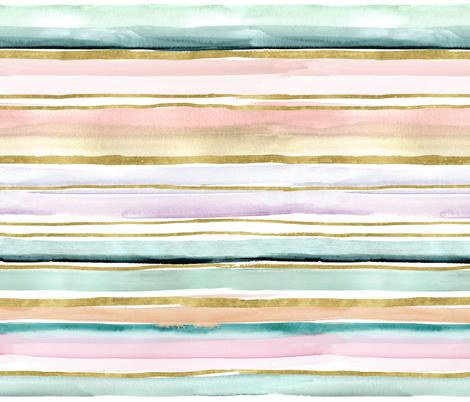 Daydream Stripe fabric by crystal_walen on Spoonflower - custom fabric