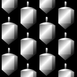 Dreidels, Silver