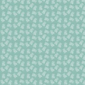Delicate Fern, Robins Egg_Linen_HD