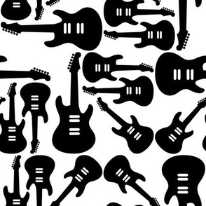 Electric Guitar Pattern (large version)