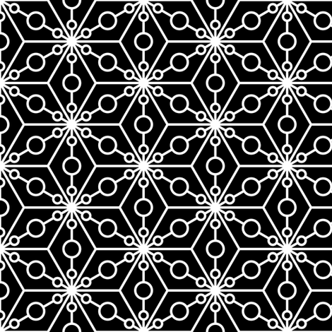 07374749 : SC3C spotty : black fabric by sef on Spoonflower - custom fabric