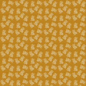 DelicateFern_Goldenrod_Linen_HD