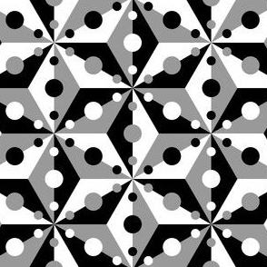 07374853 : SC3C spotty : contrast grey