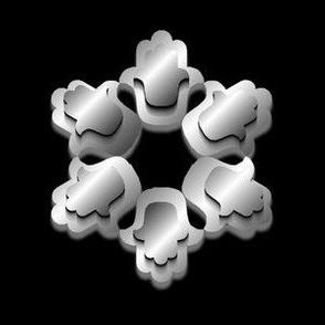 Hamsa, Silver 3D