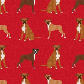 boxer pet quilt a dog breed nursery coordinate