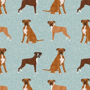 boxer pet quilt b dog breed nursery coordinate