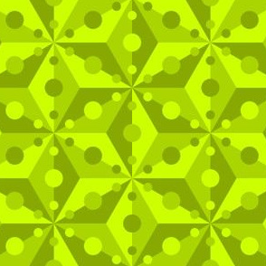 07375404 : SC3C spotty : chartreuse green