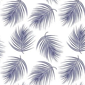 "4"" Palm Leaves - Dark Lilac"