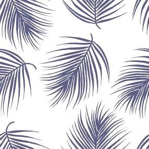 "8"" Palm Leaves - Dark Lilac"