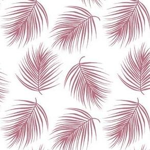 "4"" Palm Leaves - Mauve"