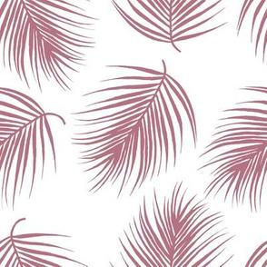 "8"" Palm Leaves - Mauve"